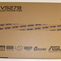 ASUS VS278H, LED-Monitor schwarz, 2x HDMI, Sound
