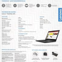"LENOVO ThinkPad L470 i5-6300/8GB/256GB-SSD/14""HD"