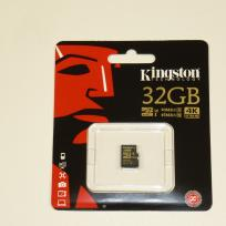 KINGSTON Gold 32 GB microSDHC, Speicherkarte